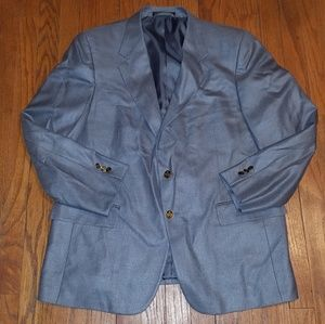 Petrocelli Blazer With Gold Buttons